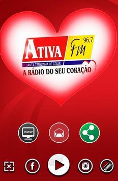 Ativa FM 96,7 poster