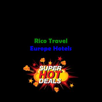 Rico Travel Hoteles Europa poster