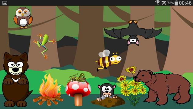 Animal Sounds for Children Fre apk screenshot