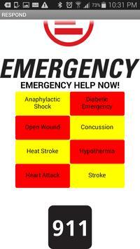 Quick Emergency Help Guideline apk screenshot