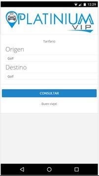 Tarifario Platinium apk screenshot
