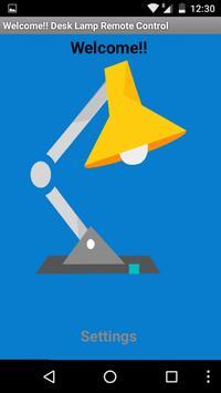 Smart Desk Lamp poster