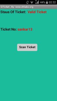 QTicket - Demo apk screenshot
