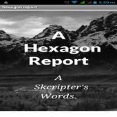 hexagon report icon