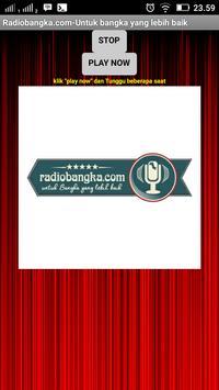 Radiobangka.com apk screenshot