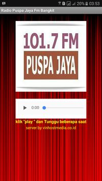 Radio Puspa Jaya Fm Bangkit apk screenshot