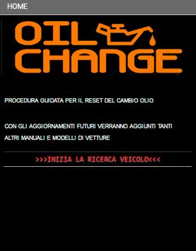 OIL RESET poster
