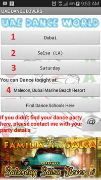 UAE Dance World poster