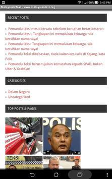 Malaysian Taxi screenshot 2