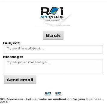 RCI-Appineers Business Card screenshot 4