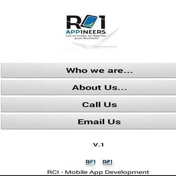 RCI-Appineers Business Card screenshot 1
