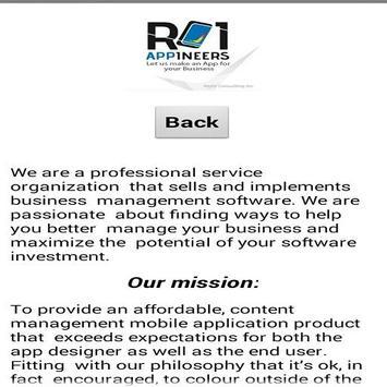 RCI-Appineers Business Card screenshot 3