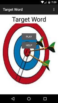 Target Word poster
