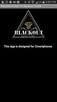Blackout Cascade Effect Scorer poster