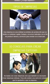 Gestión y Empresa, Tips screenshot 1