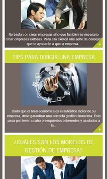 Gestión y Empresa, Tips screenshot 4