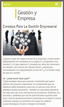Gestión y Empresa, Tips screenshot 5