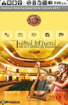 Festival Internacional Cultura poster
