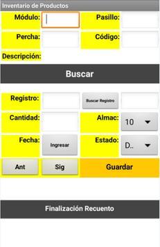 Inventarios screenshot 2