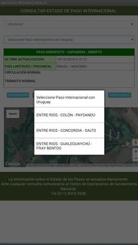 ESTADO PASOS INTERNACIONALES apk screenshot