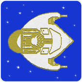 Space and Rocks icon