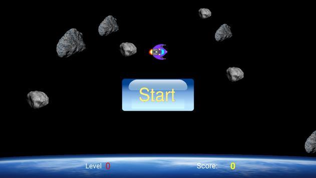 Space and Rocks apk screenshot