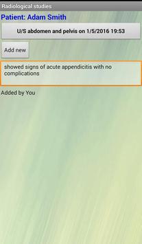Medical Records Assistant apk screenshot