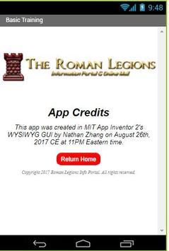 Roman Legions 101 screenshot 1