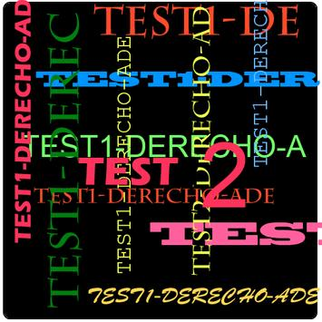 TEST2DERECHO para ADE poster