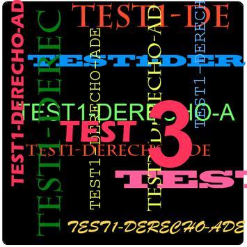 TEST3 Derecho para ADE poster