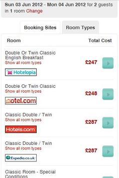 Hotel Price Scanner screenshot 2