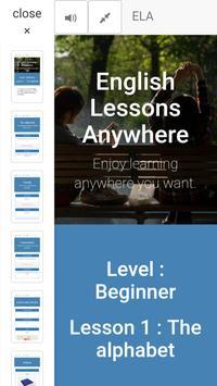 ELA - Level : Beginner - Lesson : 1 screenshot 1