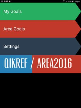 LDS QikRef - Area Goals 2016 apk screenshot