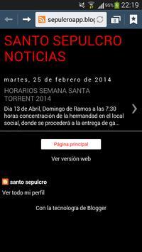 Santo Sepulcro Torrent apk screenshot