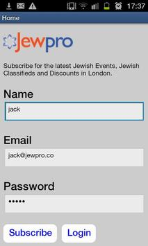 Jewish Events, Discounts, News poster