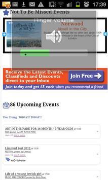 Jewish Events, Discounts, News apk screenshot