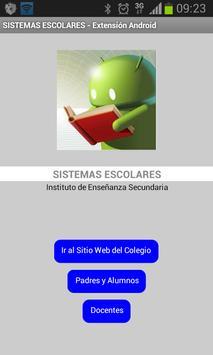 Sistemas Escolares (Nocturna) poster