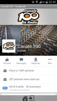 Canale 100 screenshot 1