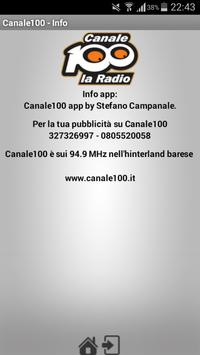 Canale 100 screenshot 2