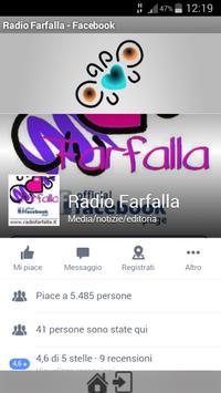 Radio Farfalla screenshot 1