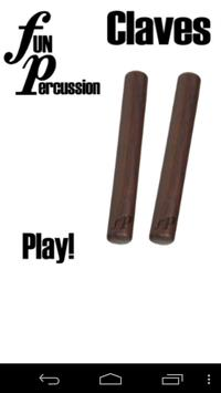Fun Percussion Claves poster