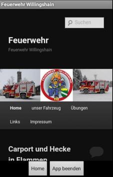 Feuerwehr Willingshain poster