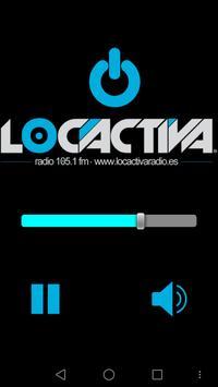 Loca activa radio poster