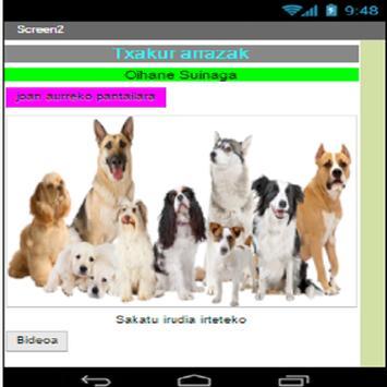 Txakur arraza apk screenshot
