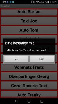 TaxiAPP Südtirol apk screenshot