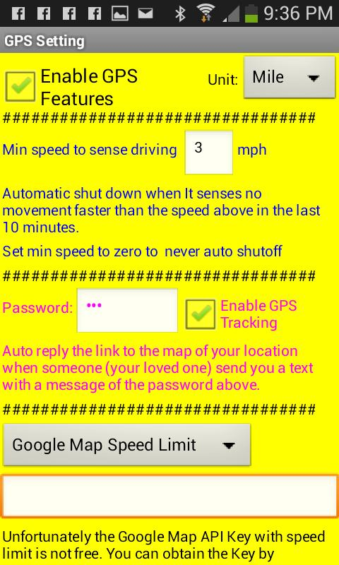 No Texting While Driving (SMS) for Android - APK Download