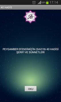 40 HADİS poster