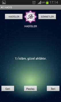 40 HADİS apk screenshot