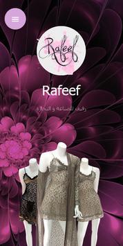 Rafeef Fashion poster