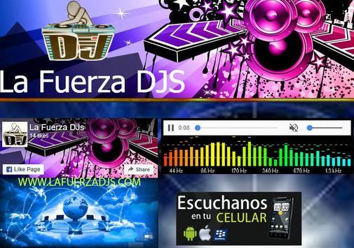 La Fuerza DJS poster